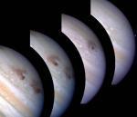 Поглощение Юпитером кометы Шумейкер-Леви 9