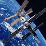 Вид орбитального комплекса