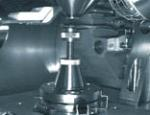 """Фото электронного микроскопа Philips XL30ESEM """"изнутри""""; иллюстрация предоставлена М. Шабановой (биологический факультет МГУ)"""