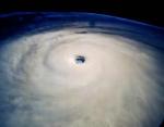 """Глаз"" урагана. Фото JPL"