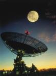 The Parkes Radio Telescope: Photo by Seth Shostak, CSIRO