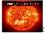Зафиксирована мощная вспышка на Солнце