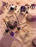 Крошечные вездеходы будут осваивать Марс