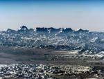 Вид на Гималаи из космоса