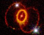 Загадочные кольца сверхновой 1987A