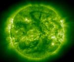 S на Солнце