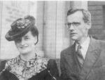 Ирина Александровна и Юрий Алексеевич Давиденковы. 1947 г.