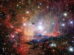 NGC 281: скопление, облака и глобулы