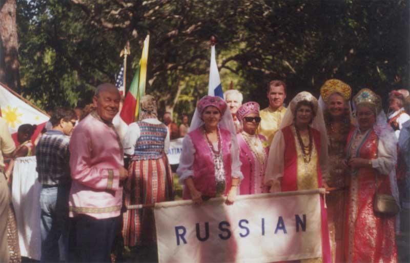 Русские американцы на этническом фестивале во Флориде