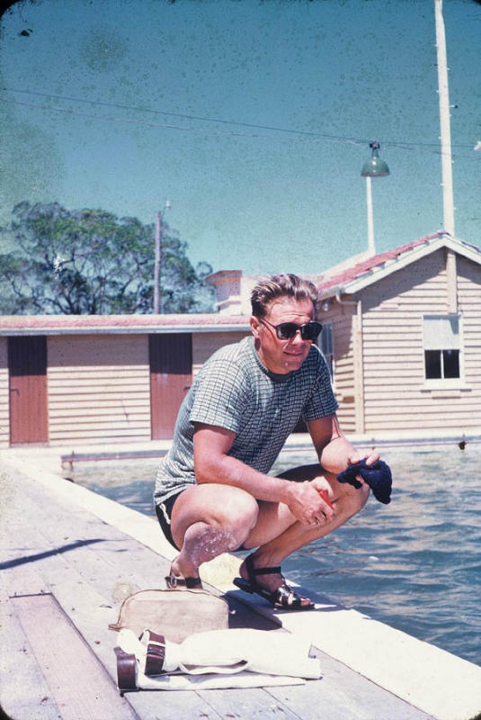 Сигизмунд Дичбалис после приезда в Австралию