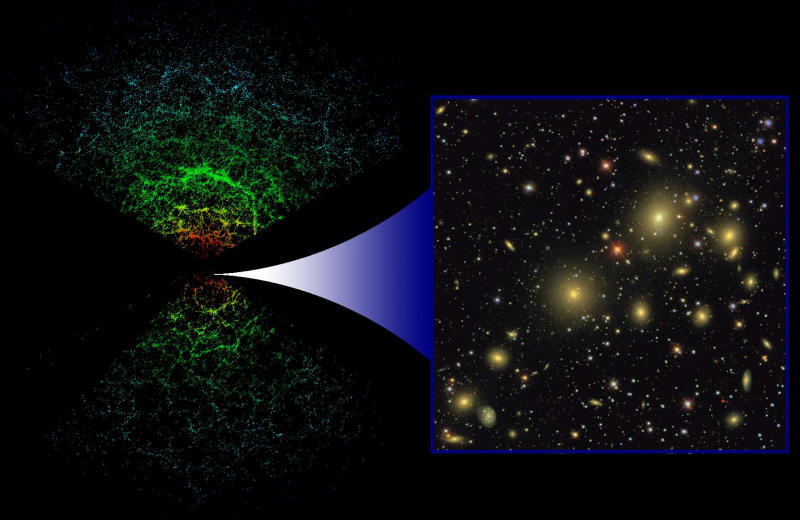 New Maps of Dark Matter Chart the Unknown Universe