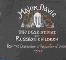 Посвящение альбома очень трогательное и адресовано самому хорошему приятелю русских сирот - г-ну Чарльзу Дейвису