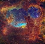 Массивные звезды в NGC 6357