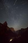 Ночь Персеид в Йосемити