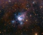 Молодые солнца в NGC 7129