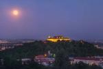 Полная Луна над Брно