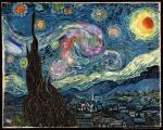 """Поиск сокровищ на картине """"Звездная ночь"""""""