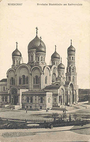 Собор Александра Невского, Варшава