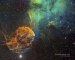 Шарплесс 249 и туманность Медуза