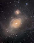 NGC 1316: после столкновения галактик