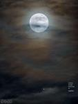 Луны и Юпитер