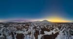 Восход тени и заход Солнца