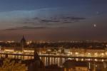 Соединение перед равноденствием над Будапештом