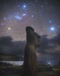 Орион над островом Пасхи