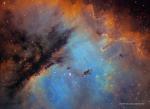 Портрет NGC 281