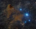 Темная туманность Линдса 183