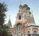 Русский православный Свято-Николаевский собор в Ницце