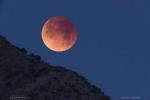 Затмение при заходе Луны