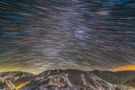 Следы звезд над горами Альборц