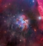 NGC 2023 в тени Конской Головы