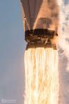 Запуск спутника TESS крупным планом