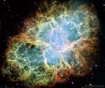 M1: Крабовидная туманность в телескоп им.Хаббла